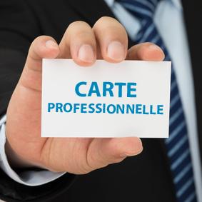 carte professionnel